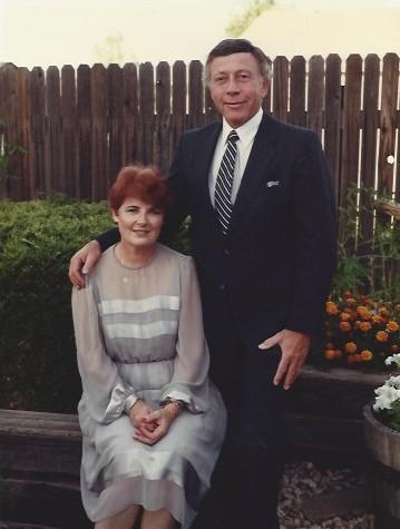 Dan and Doris Aks standing