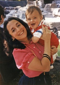 Sherri Brown with son